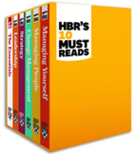 HBR's 10 Must Reads Boxed Set (6 Books) (HBR's 10 Must Reads) (English Edition)