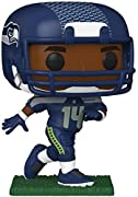 From NFL D K Metcalf as a stylized POP vinyl from Funko Figure stands 9cm and comes in a window display box Check out the other NFL figures from Funko Collect them all Funko POP Is the 2018 People's choice Toy of the Year