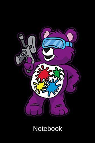 Notebook: Paintball Teddy