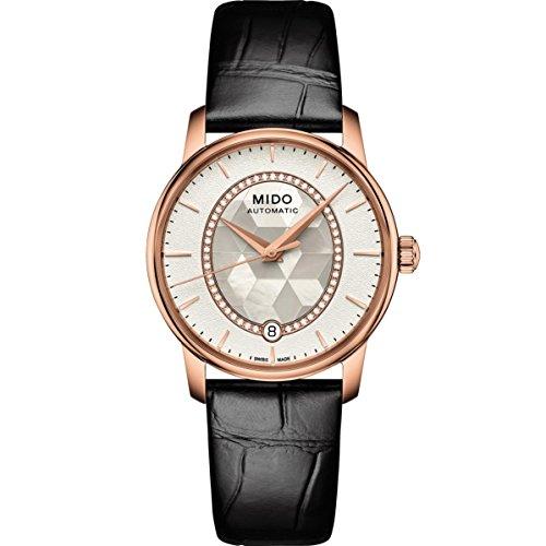 Mido Reloj Digital para Mujer de Automático con Correa en Cuero M0072073611600