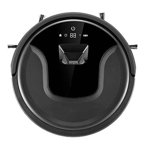Robotic Vacuums Newest Camera Visual+Gyroscope Navigation Smart Vacuum Cleaner Robot With WiFi App Control,Smart Memory, Water Tank