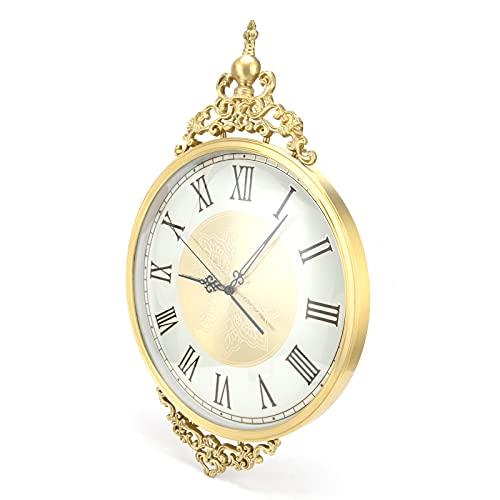 Orologio da Parete Silenzioso, Orologio da Parete 21 x 13,8 Pollici per Aula per Ufficio per casa per Soggiorno