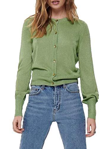 ONLY Cardigan Donna Skylar 15192358 Verde M