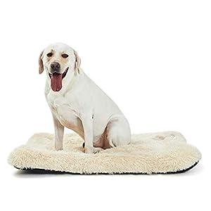 ANWA Large Dog Bed Pet Cushion Crate Mat Soft Pad Washable Dog Bed for Extra Large Dog