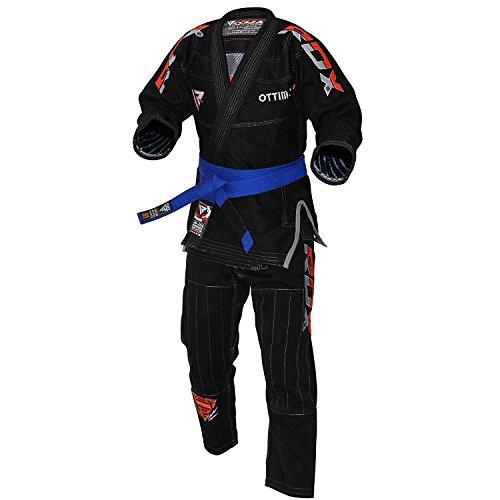 RDX BJJ Gi Anzüge Für Wettbewerb Brasilianische Jiu Jitsu Gi Kimono   Kampfsportanzug IBJJF Gürtel Vorgeschrumpft Bekleidung   Erwachsene Uniform Training Absolute Für Herren(MEHRWEG)