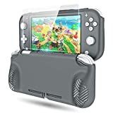 Protective Skin Cover for Nintendo Switch Lite, OIVO Soft TPU Protective Skin Shell for Nintendo Switch Lite-1× Glass Screen Protector Included
