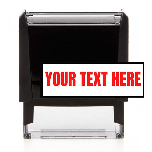 Custom Self-Inking Stamp Address Stamp - Office Stamps - Teacher Stamp - Choose Your Font and Color...