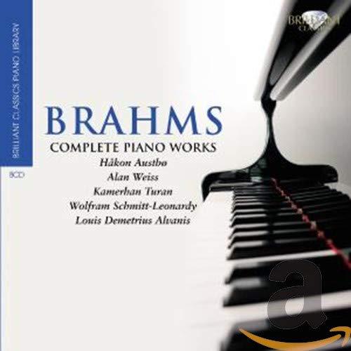 Brilliant Classics Piano Library :Brahms - Sämtliche Klavierwerke