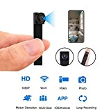 Mini WiFi DIY Spy Camera 1080P Wireless Hidden Camera Small Nanny Cam