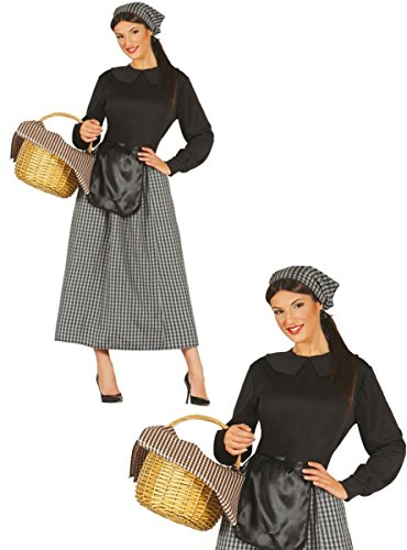 Disfraz de castañera para mujer - L