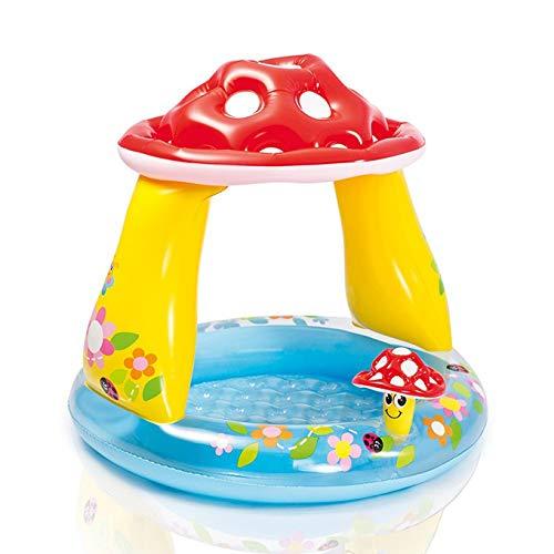 MMYYIP Kinder Aufblasbare Swimmingpool Babyplanschbecken Aufblasbaren Familie Swimmingpool Ozean Ball Pool Sandkasten,A
