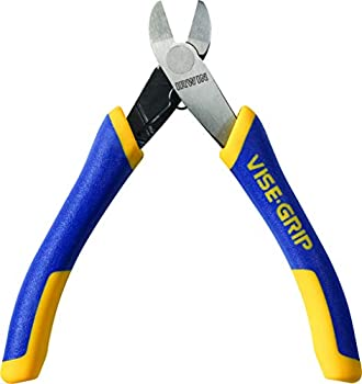 IRWIN VISE-GRIP Pliers with Spring Flush Cut Diagonal 4-1/2-inch  2078925