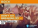Don't Go Breaking My Heart (Duet) al estilo de Elton John & Kiki Dee