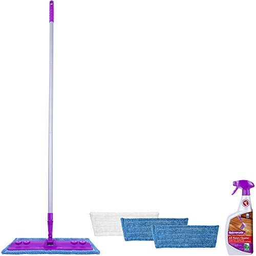 Rejuvenate Hardwood and Laminate Floor Cleaning Mop Kit, 5-Piece