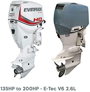 Oceansouth Outboard Motor Vented Cover for Evinrude