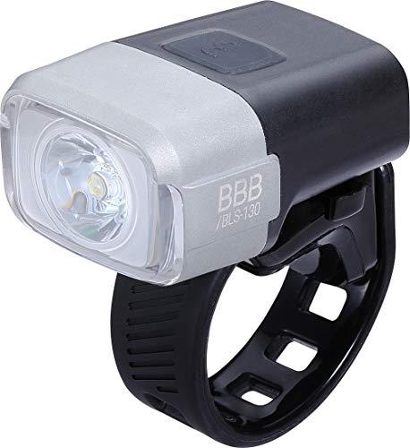 BBB Unisex-Adult BLS-130 Cycling Fahrradlicht NanoStrike 400 Lumen| Fahrradlampe mit Memory Mode| Wiederaufladbare Fahrradbeleuchtung|Schwarz, 32 x 67 x 39 mm