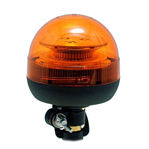 LED-MARTIN R65 PowerBall Rundumkennleuchte gelb mit DIN-Steckfuß