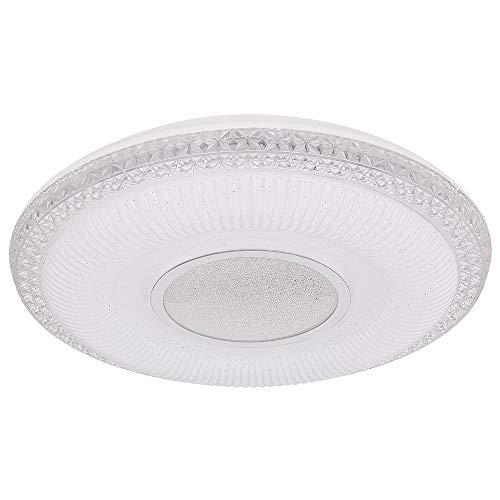 KLEMENS - Lámpara LED de techo (acrílico, función de memoria), color blanco