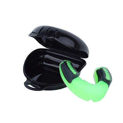 AILOVA Protector bucal, suave EVA guardias sin agujeros para respirar para boxeo, deportes de fútbol, baloncesto, accesorios de fitness oral, protección de los dientes del equipo de seguridad