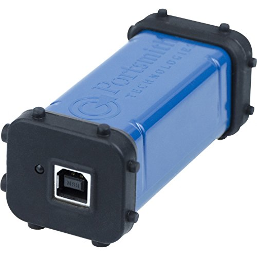 Portsmith in-line USB client to Ethernet Adapter (for use with mobile computers operating as USB Host) . . . PSA1U1E