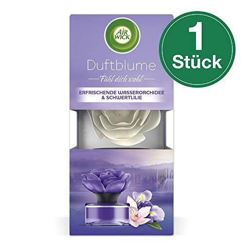 Air Wick Duftblume Erfrischende Wasserorchidee & Schwertlilie, Raumduft, 1 Stück