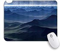 マウスパッド 個性的 おしゃれ 柔軟 かわいい ゴム製裏面 ゲーミングマウスパッド PC ノートパソコン オフィス用 デスクマット 滑り止め 耐久性が良い おもしろいパターン (ネイチャーファンタジーロマンス簡潔なスタイルローリングヒルズエンドレスのような広大な海)