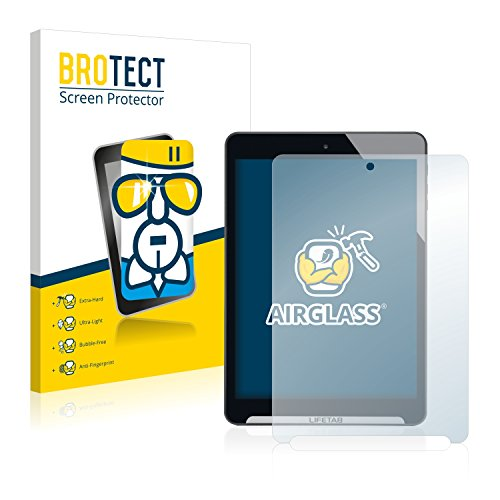BROTECT Panzerglas Schutzfolie kompatibel mit Medion Lifetab S7852 (MD98625) - AirGlass, 9H Festigkeit, Anti-Fingerprint, HD-Clear