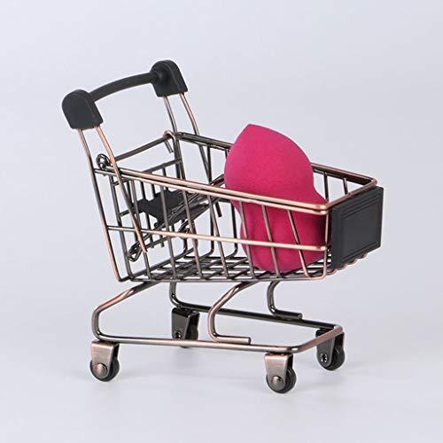 LKESWLE Bebé niños simulación Mini Carrito de Compras Juguetes supermercado Plegable Trolley...