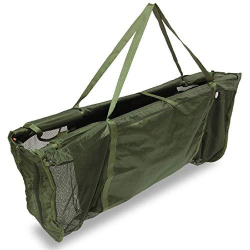 G8DS® Wiegeschlinge mit Schwimmhilfe und Reissverschlüssen an den Seiten wiegen Karpfen Weight Sling Floating Cradle Waage