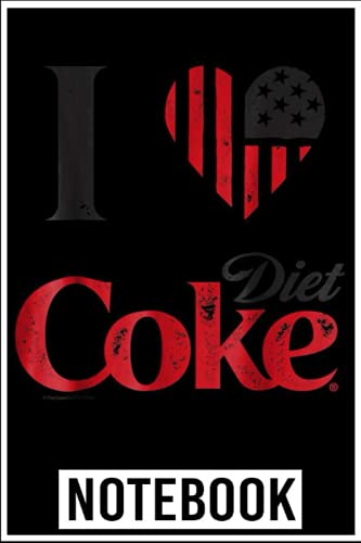 Notebook: Coca-Cola Vintage Flag Love Diet Coke Graphic notebook 6x9 inch by...