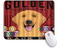 VAMIX マウスパッド 個性的 おしゃれ 柔軟 かわいい ゴム製裏面 ゲーミングマウスパッド PC ノートパソコン オフィス用 デスクマット 滑り止め 耐久性が良い おもしろいパターン (かわいい犬ビリヤード)