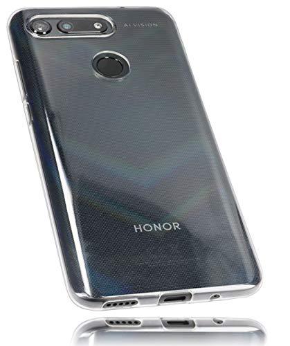 mumbi Hülle kompatibel mit Honor View 20 Handy Hülle Handyhülle, transparent