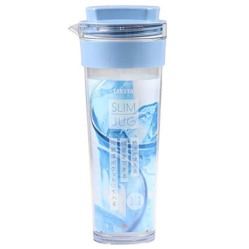 タケヤ化学工業 耐熱 冷水筒 スリムジャグII1.1L ラベンダー
