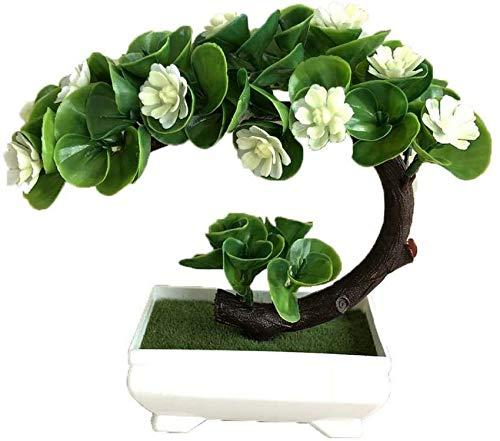 ZCYY Künstliche Topfpflanzen, künstliche Blumenpflanze Kleine Lotusblume Bonsai Simulation Lotus Blumen Bonsai Topf Künstliche Zimmerpflanzen für Desktop-Display Hausgarten Dekoration R