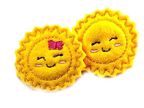 Sonne Haarspange für Kleinkinder - freie Farbwahl