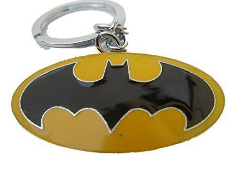 fat-catz-copy-catz Marvel Super-Héros Batman Dark Knight Gotham JAUNE émaille porte-clés métal idée cadeau
