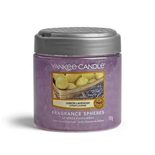 YANKEE CANDLE - Fragrance Spheres Ambientador, Dura hasta 45días, Lavanda de limón