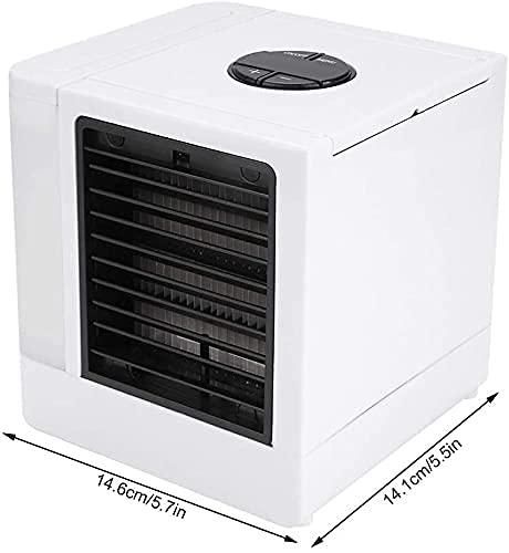 HMHMVM Refrigerador de aire portátil ner con LED Mini ventilador USB de escritorio fresco