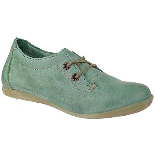 Telyoh hochwertige Sneaker Premiumqualität chromfreies Leder Y00322 Gr.30-40 grüntöne EUR 30