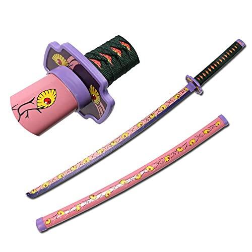 MOMAMOM Espada De Bambú Samurái Hecha A Mano Katanas Protagonista para Cosplay, Juguete De Espada Ninja 104Cm Demon Slayer Sword Madera Katana Japonesa Espada