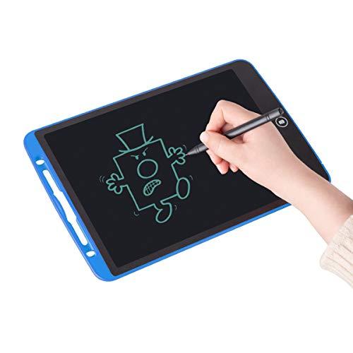 Upgrow LCD Writing Tablet, 12 Zoll LCD-Schreibtafeln, Grafiktabletts Schreibplatte Digital Schreibtafel Papierlos Schreiben Tabletten für Kinder Schule Graffiti Malen Notizen, mit Schutztasche (Blau)