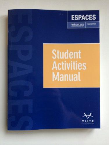 ESPACES-STUDENT MANUAL