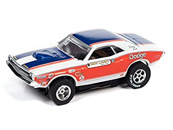 Auto World Xtraction R32 1971 Dodge Challenger Dick Landy HO Scale Slot Car