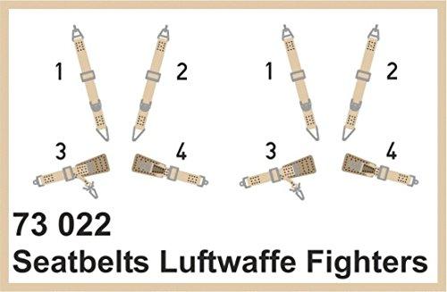 Eduard Photoetch 1:72 - Seatbelts Luftwaffe Fighters SUPERFABRIC