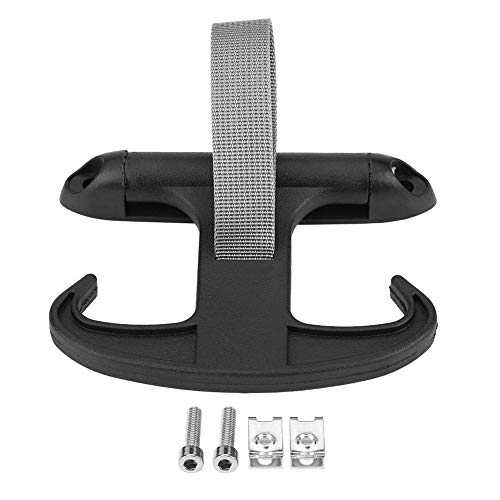 Effektivt Bil bakstångslock Hornkrok Handväskahållarehängare för J-E-T-T-A B-O-R-A MK5 Passat CC A-U-D-I A4 S4 Säkert