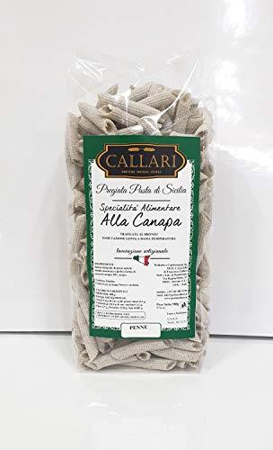 Pasta artigianale alla Canapa - Penne 500 gr. - Pasta Callari
