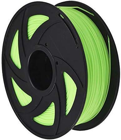 new arrival 3D Printer Filament - 1KG(2.2lb) 1.75mm / high quality 3 wholesale mm, Dimensional Accuracy PLA Multiple Color (Luminous Green,1.75mm) outlet online sale