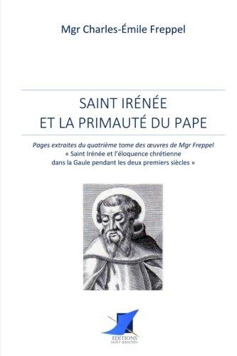 Mirror PDF: Saint Irénée et la primauté du pape