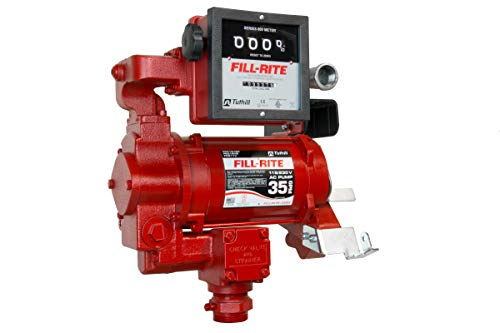 Fill-Rite FR311VN 115/230V 35 GPM Fuel Transfer Pump with Mechanical Gallon Meter