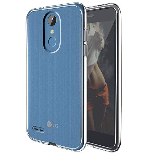 Clear Case for LG Tribute Empire Case,Rebel 4 LTE Case,LG Aristo 3/Phoenix 4/Tribute Dynasty/Zone 4 Phone Cases,Slim Thin Soft Skin Silicone Flexible TPU Anti-Scratch Protective,Crystal Clear
